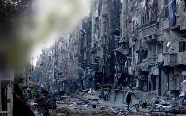 Yarmouk Street in Damascus, Source: www.telegraph.co.uk