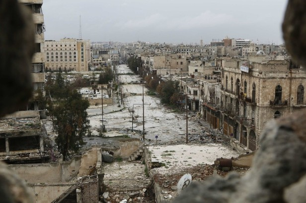 Aleppo city in ruins, Source: www.sigmalive.com